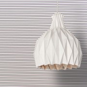 MCD102020103 shiro suspension lamp orange shading 01